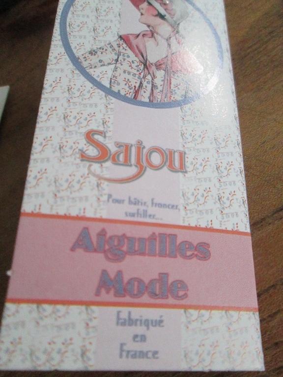 Carnet d'adresse mercerie Sajou 24