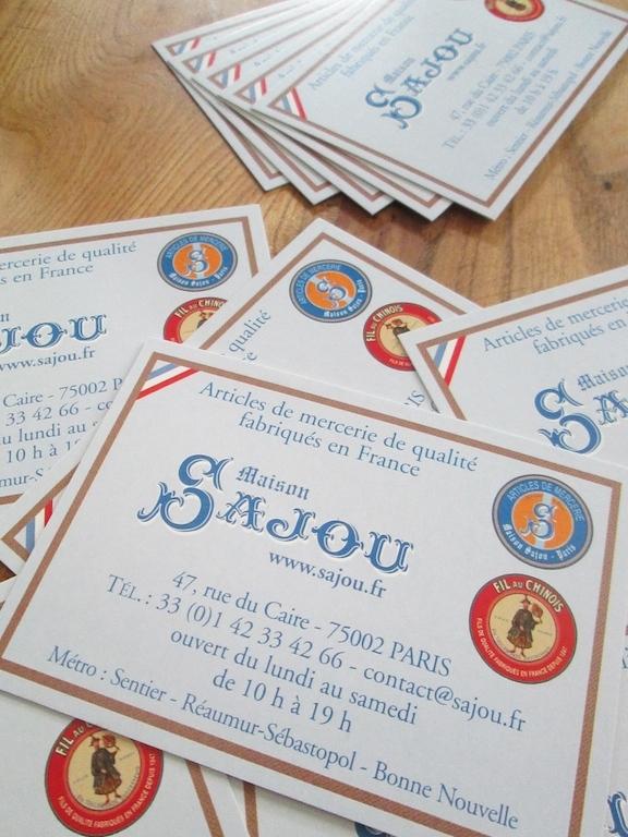 Carnet d'adresse mercerie Sajou 26