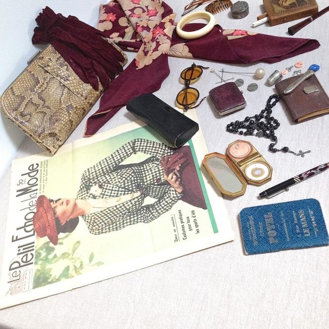 Dans le sac d'une femme des années 30 2