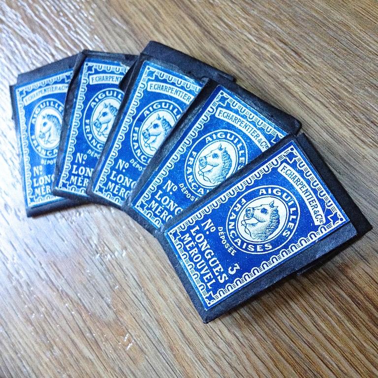 Monochrome vintage bleu 11