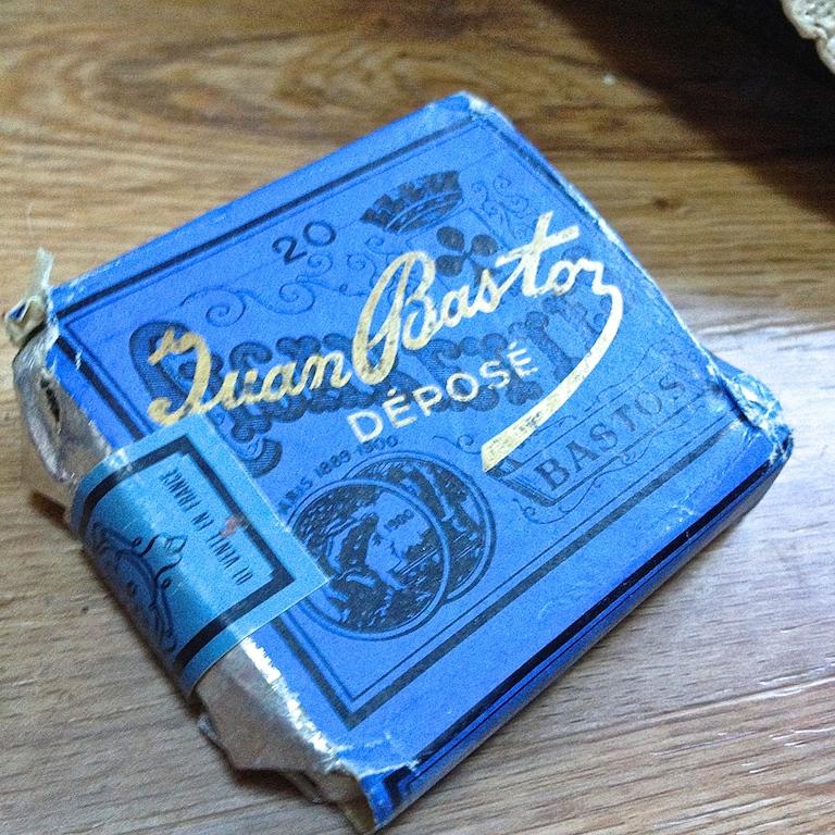Monochrome vintage bleu 15