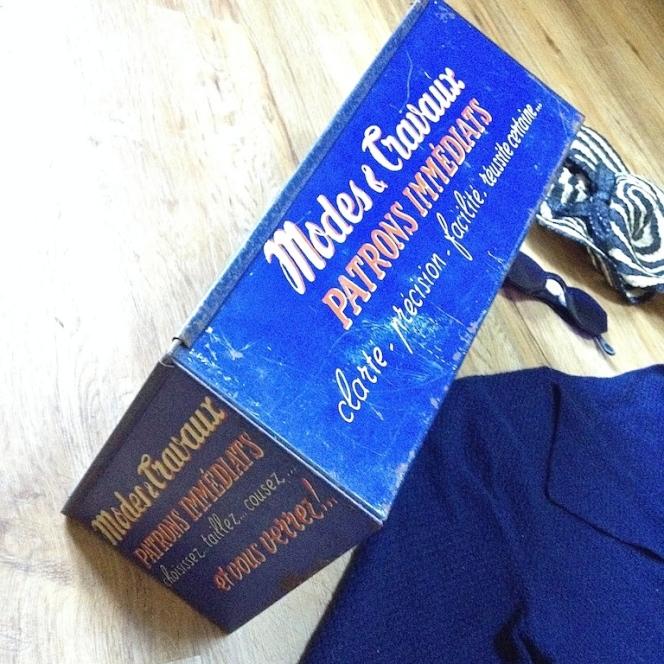 Monochrome vintage bleu 4