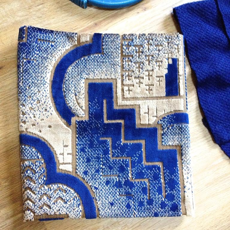 Monochrome vintage bleu 6