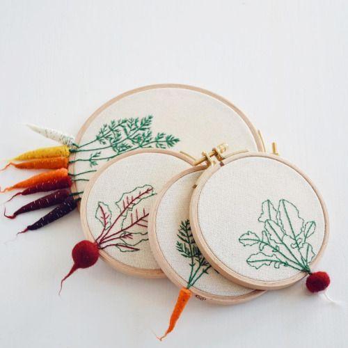 légumes brodés 3