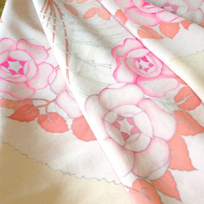 Monochrome vintage rose 17