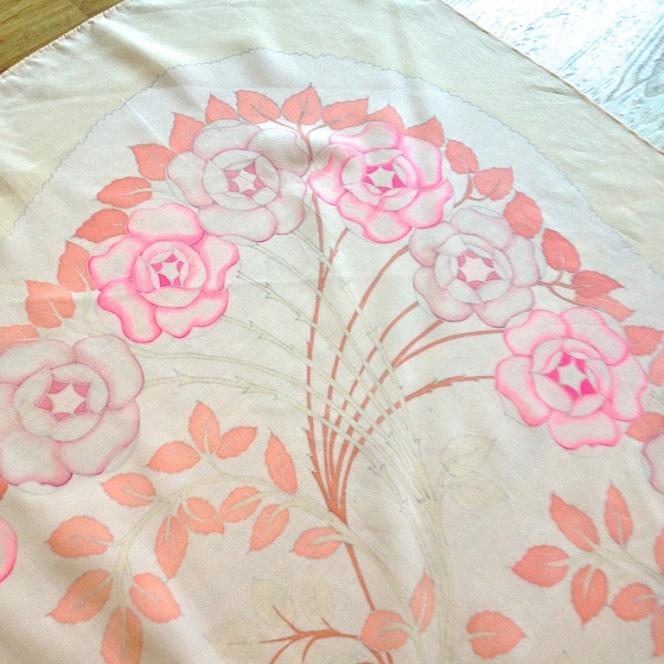 Monochrome vintage rose 19