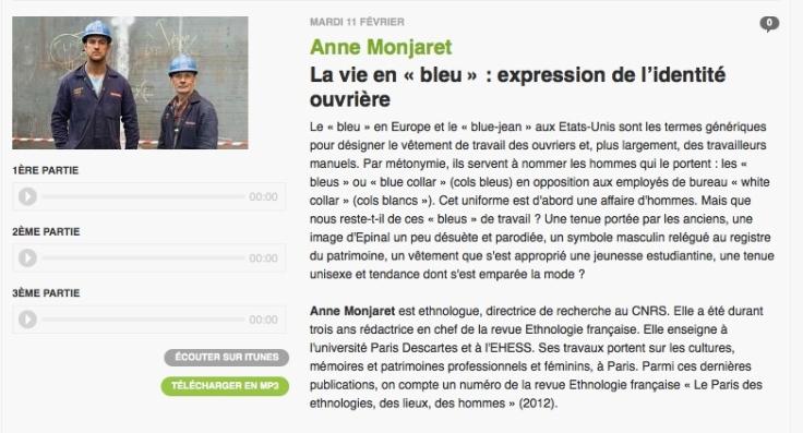 Anne Monjaret