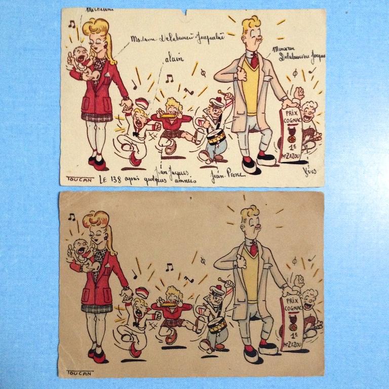 cartes postales zazoues 1
