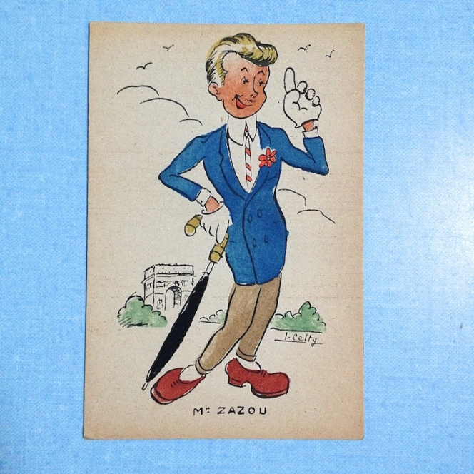 cartes postales zazoues 16