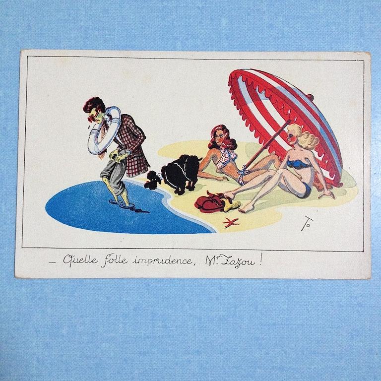 cartes postales zazoues 17