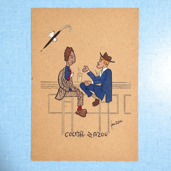 cartes postales zazoues 19