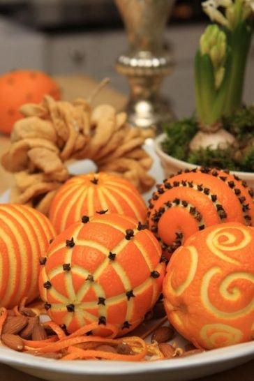 Oranges & clous de girofle