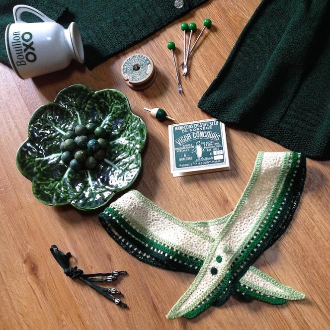 Monochrome vintage vert sapin 3