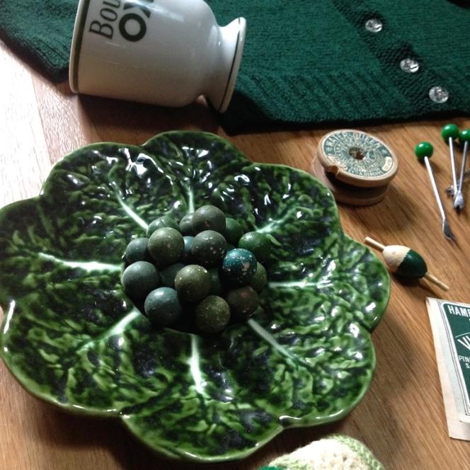 Monochrome vintage vert sapin 4