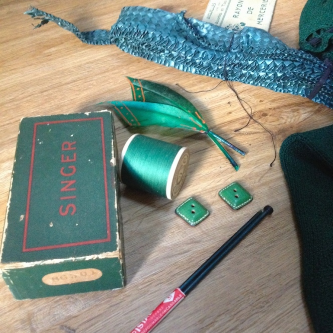Monochrome vintage vert sapin 6