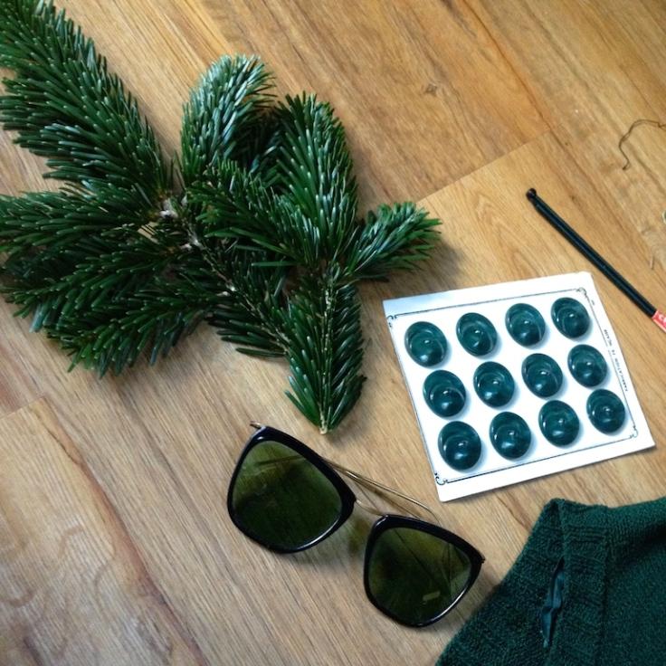 Monochrome vintage vert sapin 7