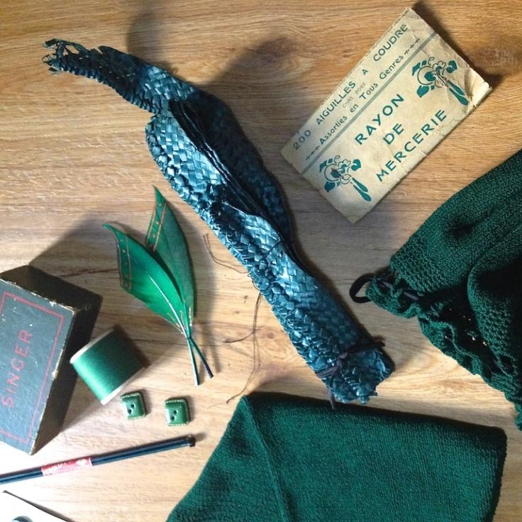 Monochrome vintage vert sapin 8