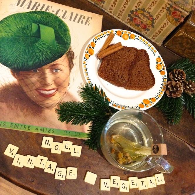 Noel vintage et vegetal 2 0