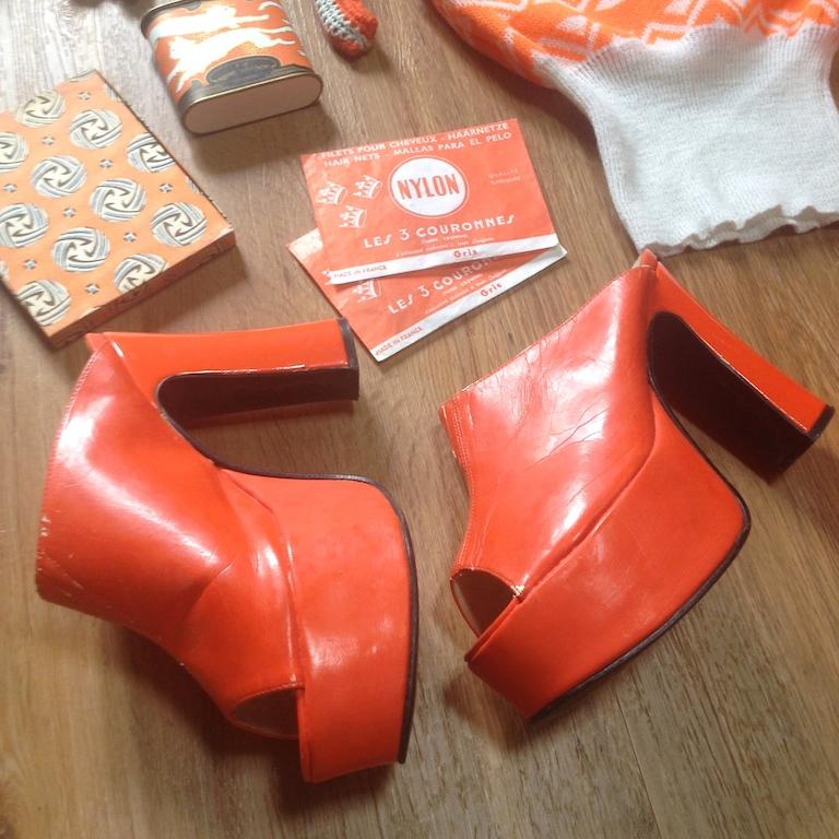 Monochrome vintage orange 3
