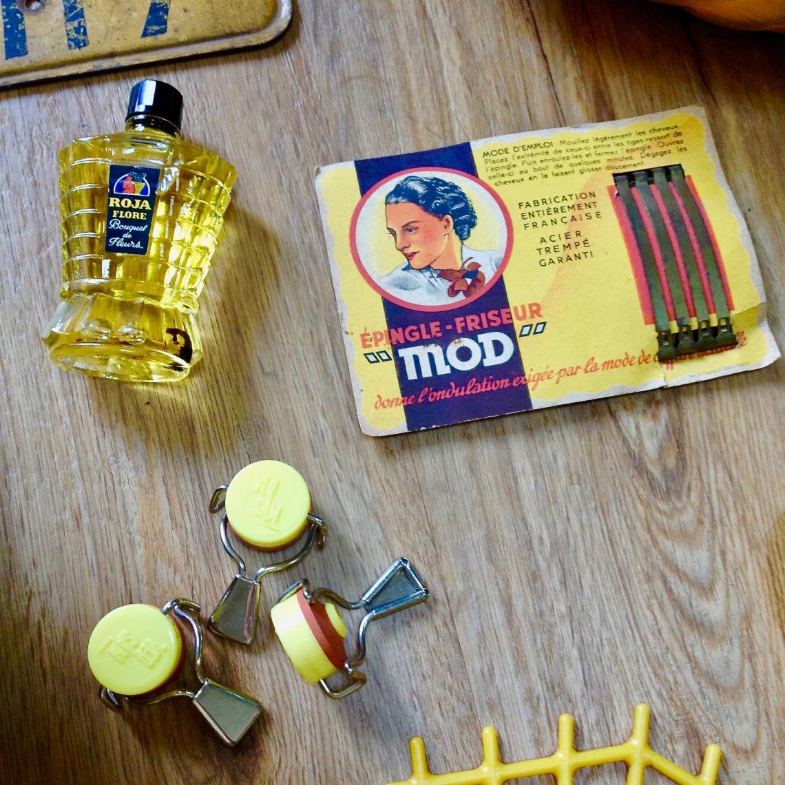 Monochrome vintage jaune 16